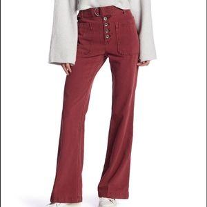 Free People Corin Mod Slim Flare Jeans